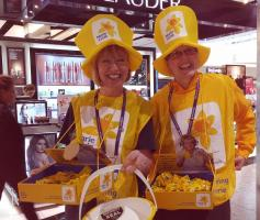Marie Curie Collection at Heathrow T5 March 2017