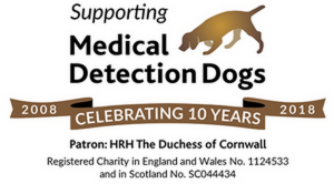 2018 President's Charity: Medical Detection Dogs