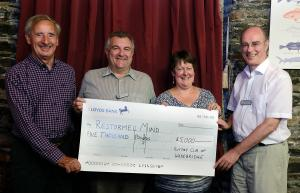 Donation to MIND Restormel from Wheels 2017