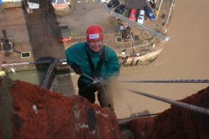 Dock tower Abseil