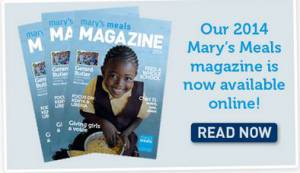 Mary's Meals and Update May 2014