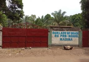 Madina School re-build now progressing, photo update