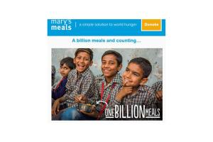 A Billion Mary's Meals