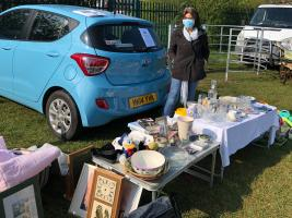 Maria at Car Boot Sale