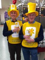 Supporting Marie Curie Daffodil collection