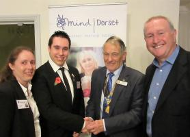 Dorset Mind discuss their work at Christchurch Rotary