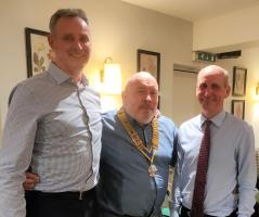 Mark Gilson and Mark Renshaw join Rotary - March 2019