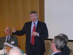 Mark Prisk MP visits the Rotary Club of Bishop's Stortford