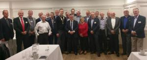 Mark Francois, MP, visits his fellow Rotarians at the Rotary Club of Rayleigh Mill