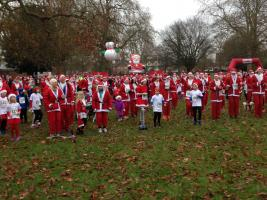 Marlow Santa Fun Run December 2017