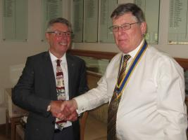 17th May 2018 Induction of Martin Lewis