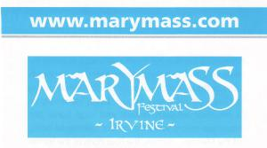 Meeting 5th August - Marymass Update