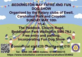 Beddington May Fayre 2020 - Cancelled
