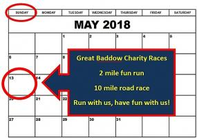 The 35th Great Baddow Charity Races: Sunday 13 May