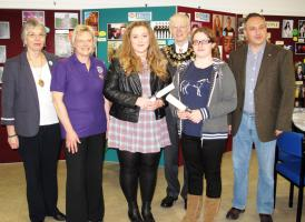 Mayor of Newbury visit to Young Photographer Exhibition