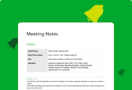 Club Meeting Notes for 18th April 2019