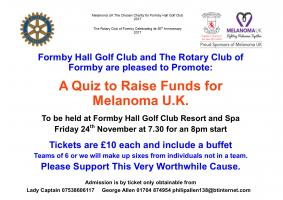 QUIZ to Support Melanoma UK