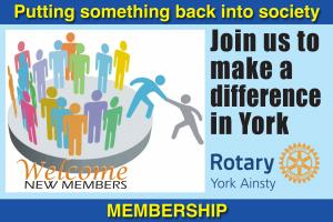 Rotary York Ainsty membership opportunities