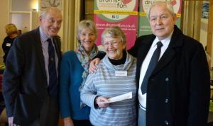 Donation to Penzance Memory Cafe