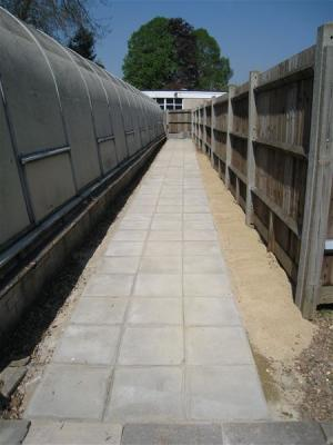 Paving the Way (at the Mencap Pool)