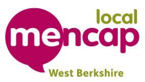 Helping West Berks Mencap