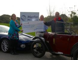 Donation to Merlin Centre