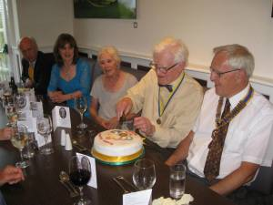 Michael Weatheralds 90th
