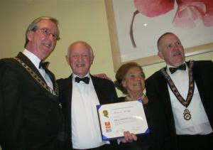 Rotarian Michael McVeigh