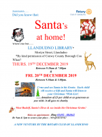 BOOK YOUR APPOINTMENT WITH SANTA!