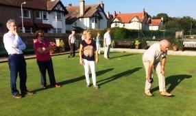 Rotary Bowls Evening – how green were we?