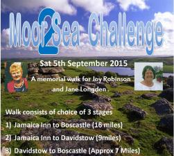 Moor to Sea Challenge