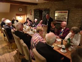 President's Night at the Stagg Inn, Titley