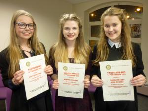 Youth Speaks Competition - 24th November 2015 - Marches Hall