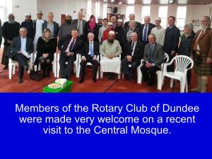 Visit to Dundee Mosque