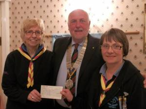 Rotary Cheque Presentations 2012