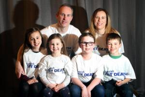Fundraising family set to make waves