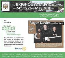 Roger Davies and his Band at the Brighouse Music Festival