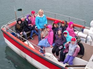 Visit of children from Chernobyl to North Berwick