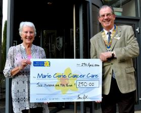 Donation to Marie Curie