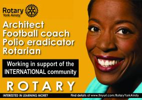 Join Rotary's 1.2 million volunteers world-wide