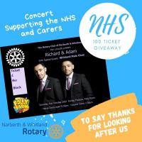 ROTARY ZOOMS IN TO HELP NHS