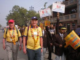 Colchester volunteers in India