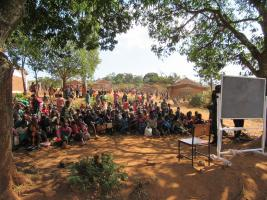 Nandife school in Malawi where we have supplied educational equipment