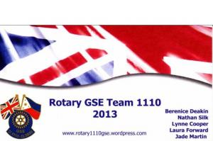 Nathan Silk - Rotary GSE Team 1110 Philippines (March 2013)