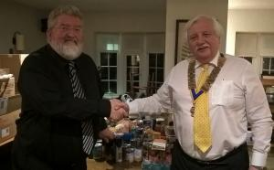 Rotary Members Donate to Isle of Man Foodbank
