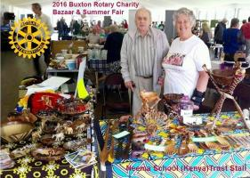 2016 Summer Fair & Charity Bazaar Report