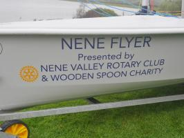 Sailability - naming ceremony for the Nene Flyer