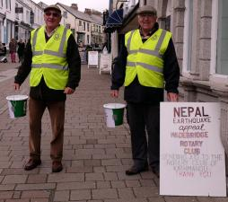 COLLECTIONS FOR NEPAL EARTHQUAKE FUND
