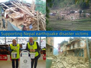Collection to support Nepal Earthquake Victims