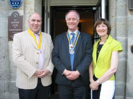New Rotary Team for Strathaven
